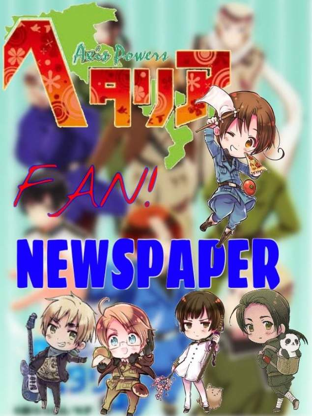 Hetalia Fan Newspaper Vol 1 | Anime Amino
