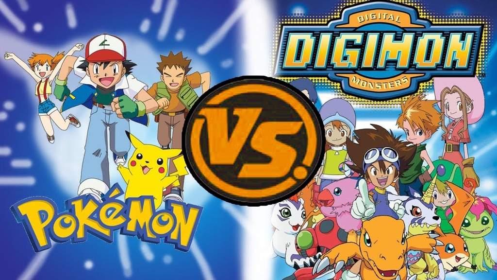 Image result for pokemon vs digimon