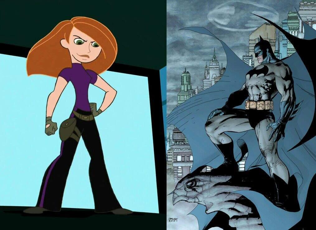 Why Kim Possible is Disney's Batman #MashupCrossover | Comics Amino