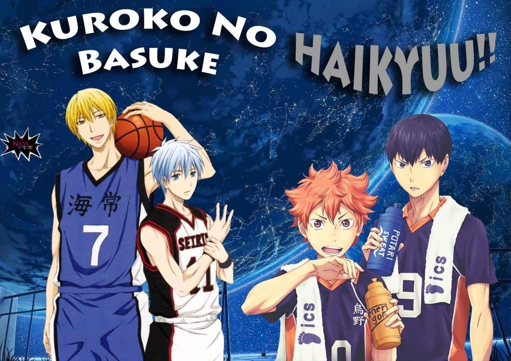 VS: Kuroko No Basuke & Haikyuu!! CHARACTERS! | Anime Amino