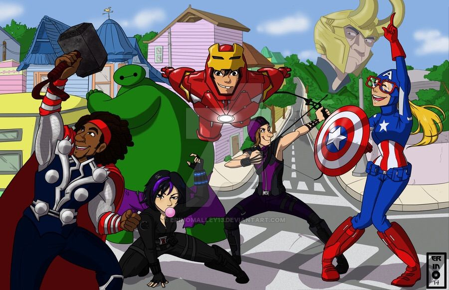 The Avengers And Why We Crossover Cartoon Amino