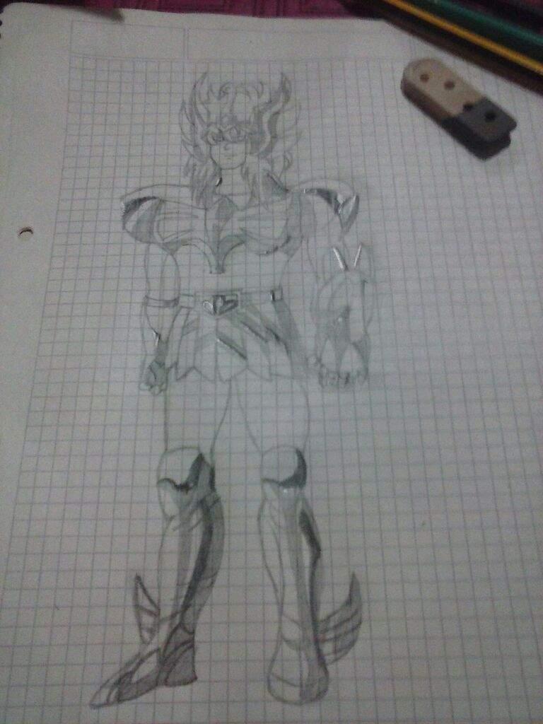 Dibujo De Hyoga El Mejor Anime De La Historia Saint Seiya Anime Amino