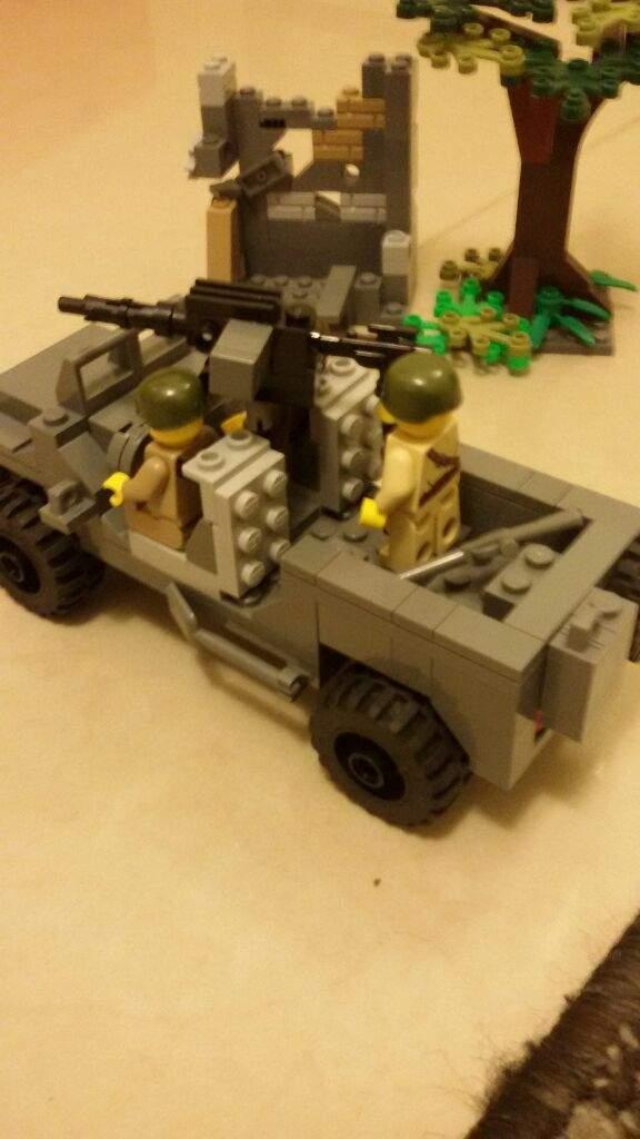 Lego Ww2 Moc Willys Jeep Lego Amino