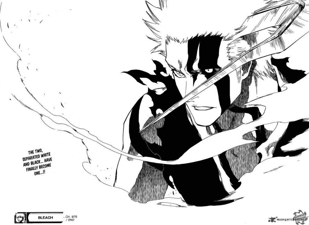 Bleach chapter 675 rev...