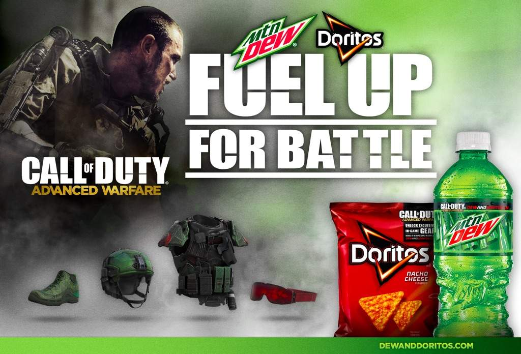 mountain dew sponsoring titanfall instead of cod cod amino
