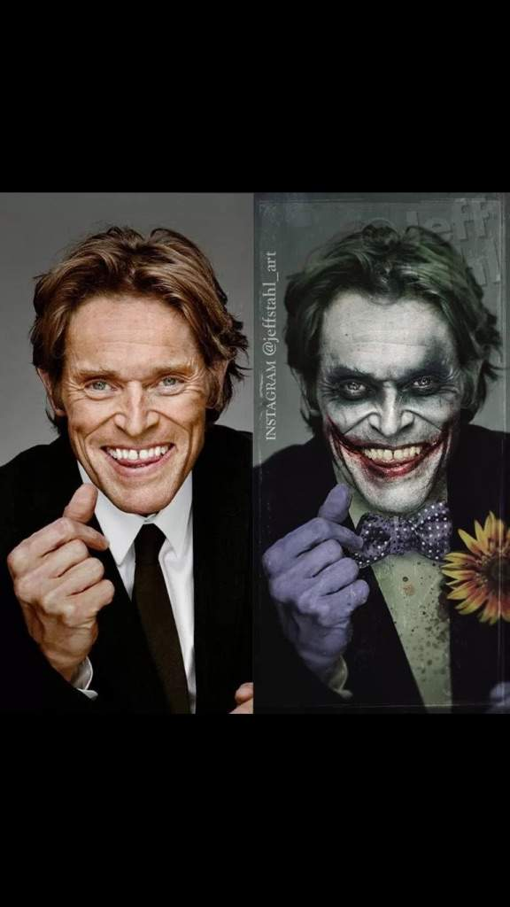 5 Cosas Que El Actor Willem Dafoe Deberia Ser El Joker Cómics Amino