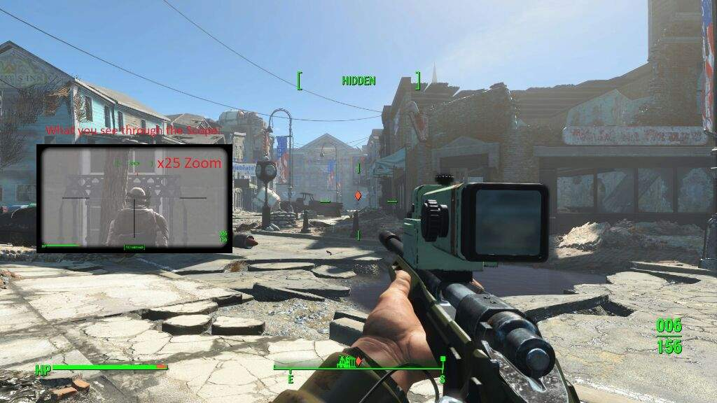 Fallout 4 survival mode tips 19 long recon scope fallout amino however it does require gun nut rank 4 to build it but in survival mode you do find yourself leveling up very quickly so that is not to much of a problem solutioingenieria Image collections