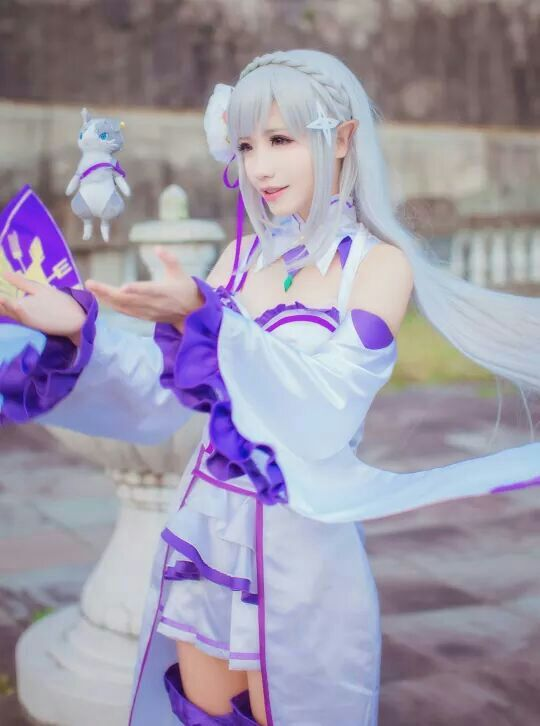 Kawaii Cosplay Emilia Anime Amino