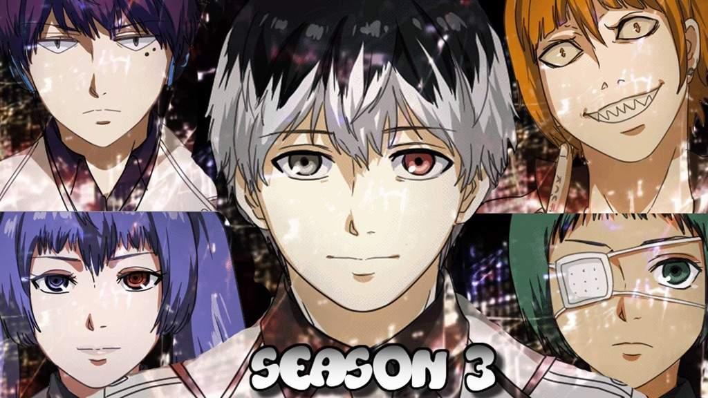 Tokyo ghoul season three characters | Anime Amino