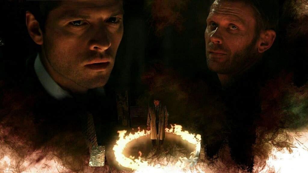 Lucifer Wallpaper 4k: Lucifer Vs God Castiel