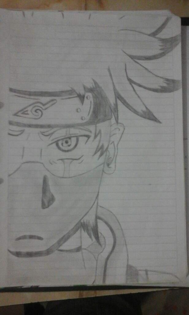 Nuevo Dibujo Naruto Kakashi Hatake Anime Amino