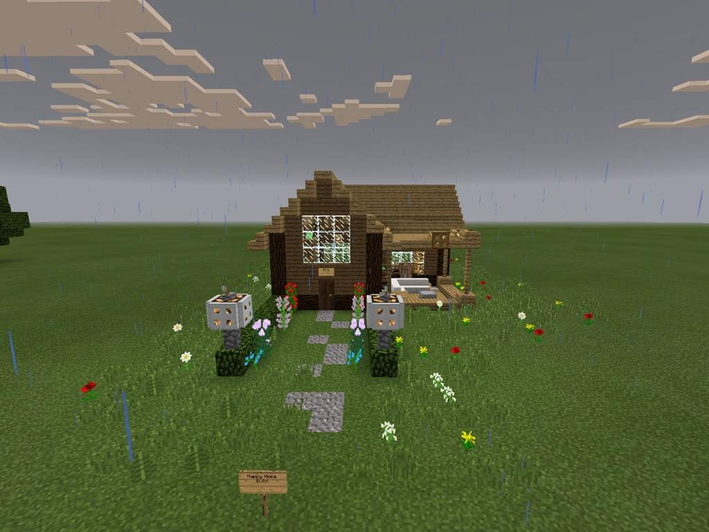 Small Wooden House Build Minecraft Amino