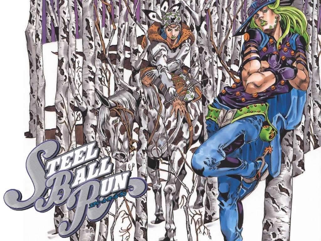 Steel Ball Run Wiki Anime Amino