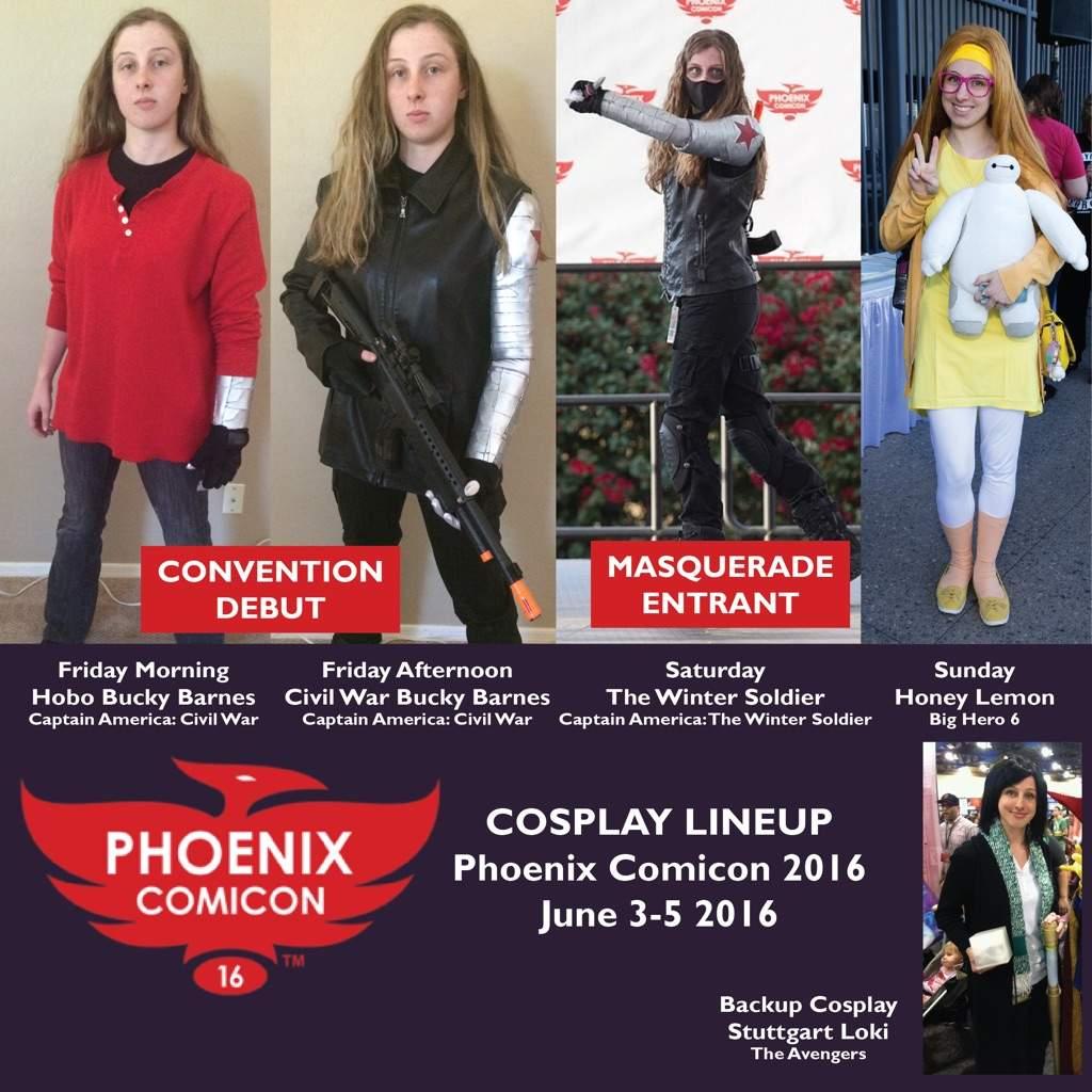 Phoenix comicon  lineup