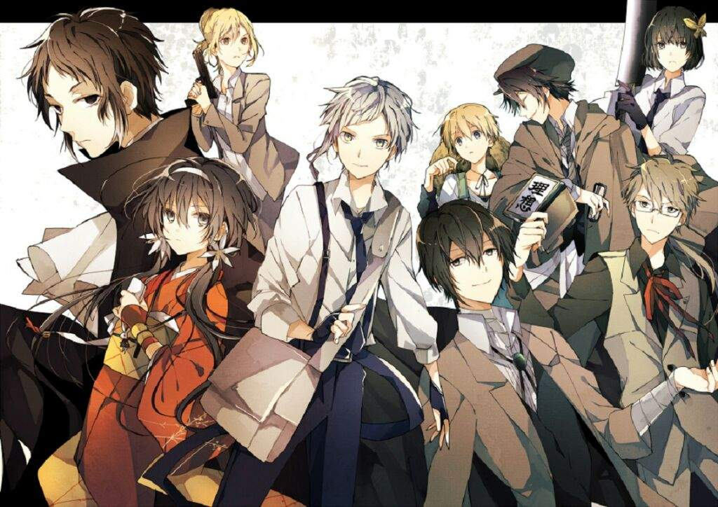 Bungou Stray Dogs : Facts and Secrets | Anime Amino