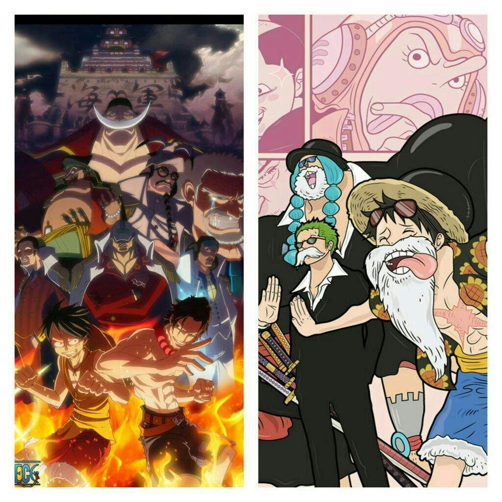 The Marineford Arc Known As Paramount War Twenty Second Story In Series And Fourth Summit Saga Of One Piece