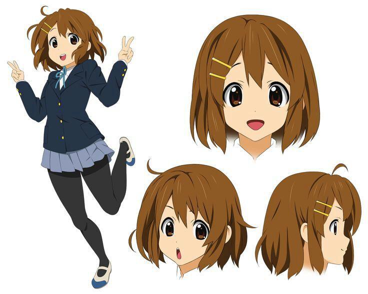 Top Chicas Anime Con El Pelo Corto.🌼