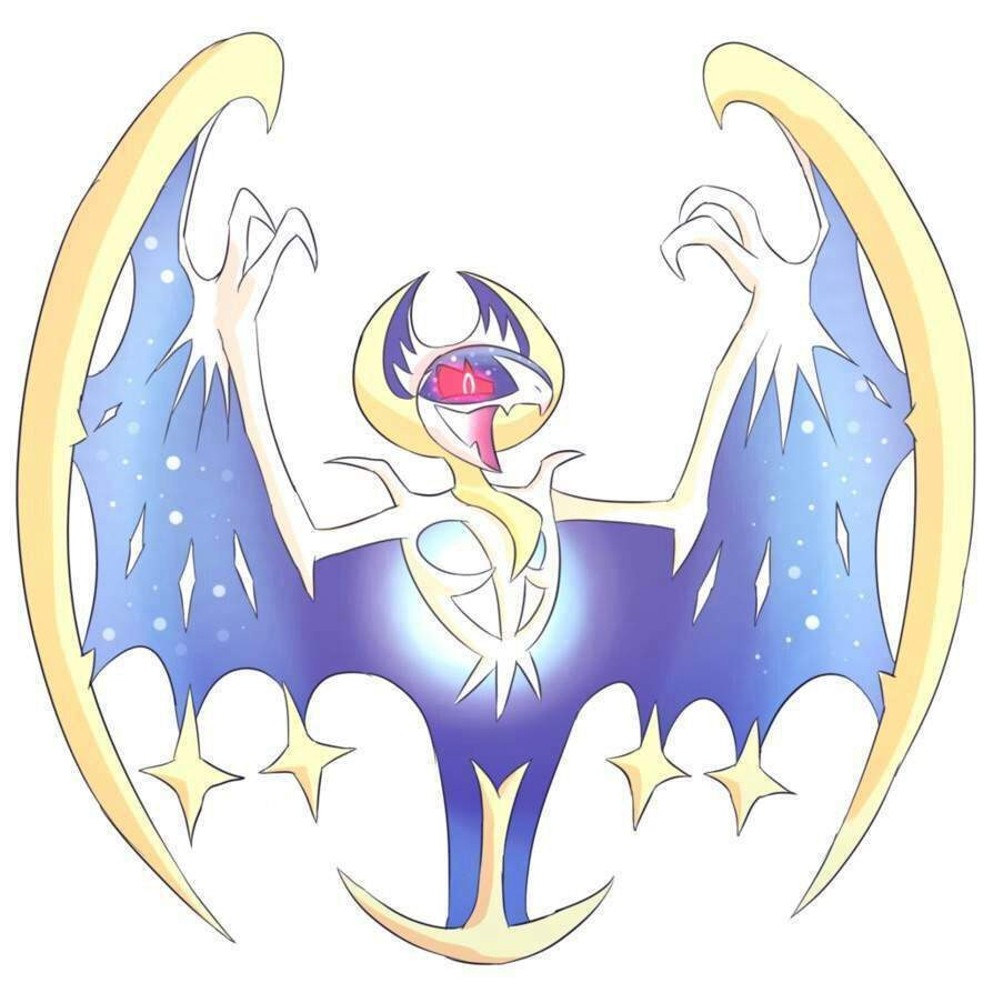 how to get lunala moon form