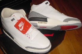 big sale fc1b7 8a47d For this weeks class I m gonna go with the iconic air Jordan 3 white  cement. That s right the shoes where mj took off from the free throw line.