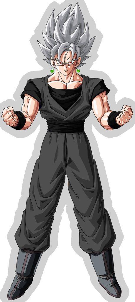 Goku Black Concept Art