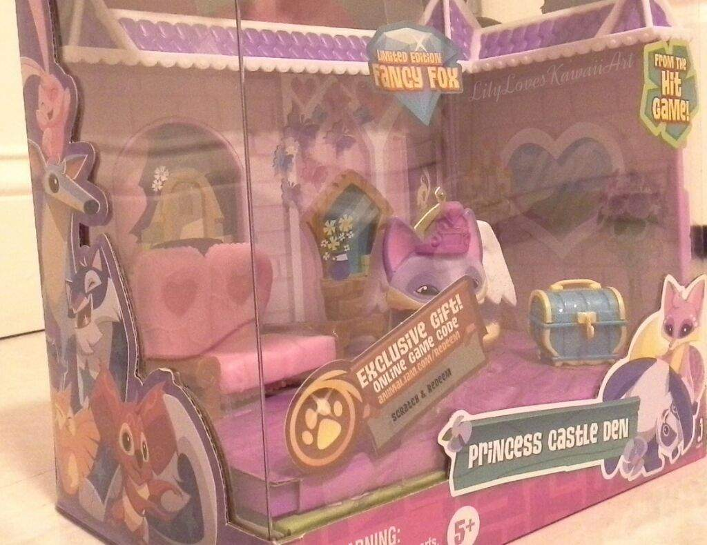 Brand New 2016 Animal Jam Toy Princess Castle Den Including Fancy