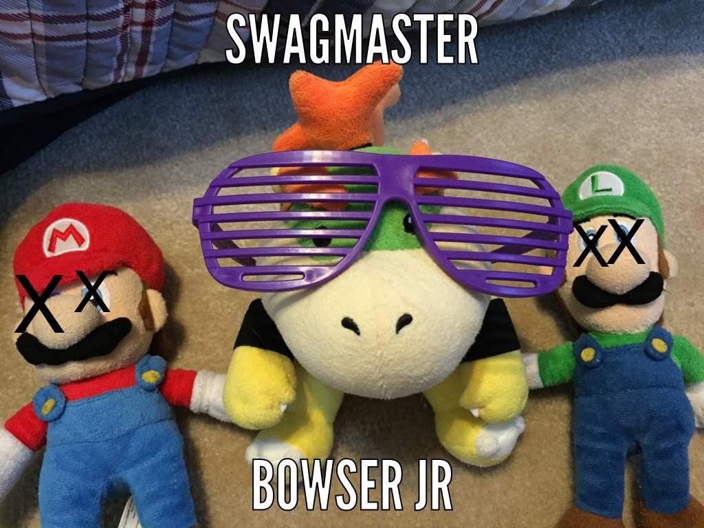 Bowser Jr S Page Mario Amino