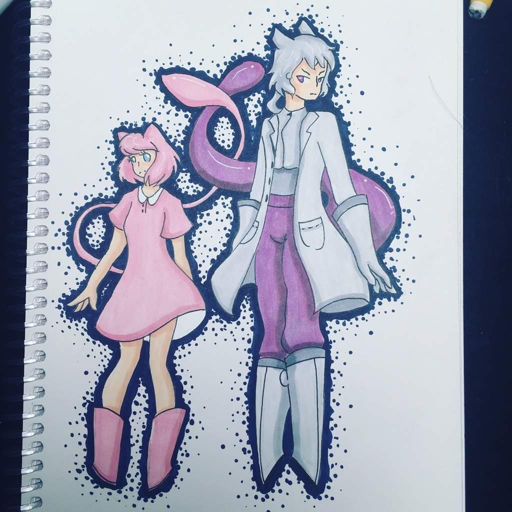 human mew and mewtwo pokémon amino