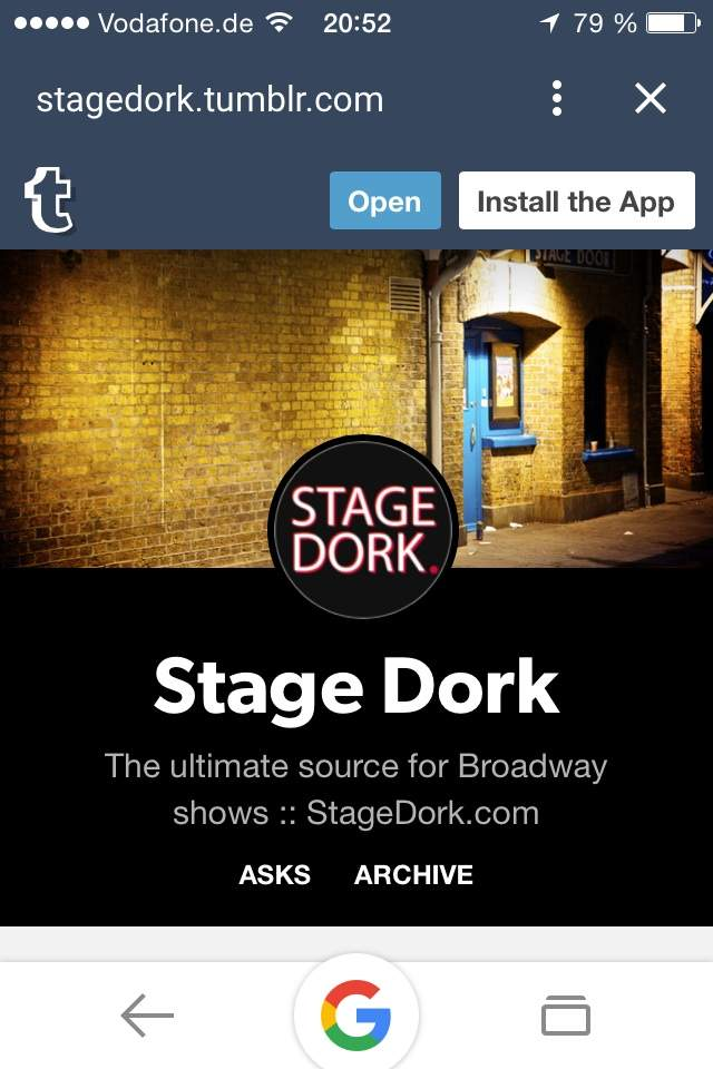 Broadway Bootlegs (stage dork) | Broadway Amino