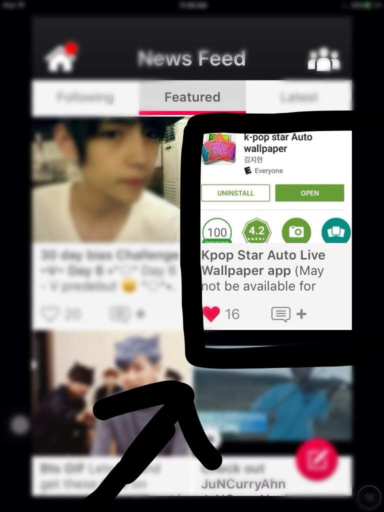 Kpop Star Auto Live Wallpaper App K Pop Amino