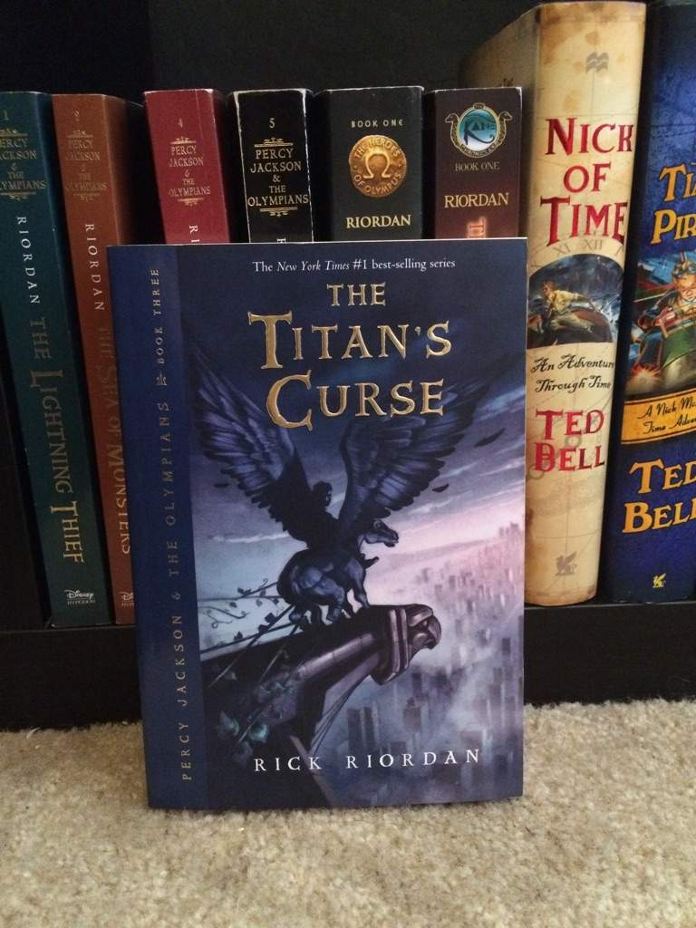 Percy Jackson And The Olympians The Titan S Curse Review Books