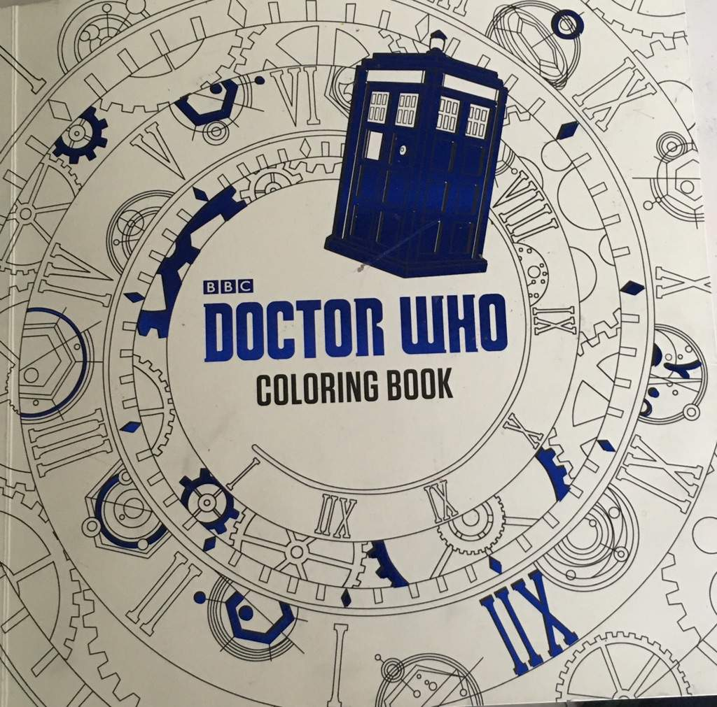gallery - Doctor Who Coloring Book