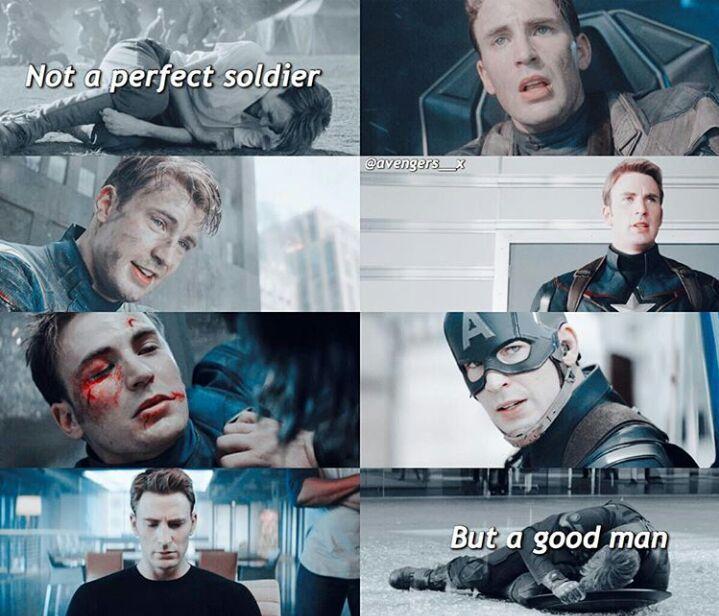 Frase Capitán América Cómics Amino