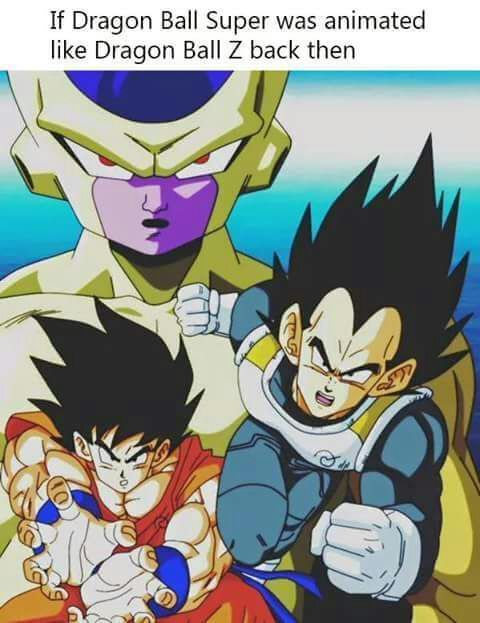 What If Dragon Ball Super Was Animated In The 90 S Anime Amino
