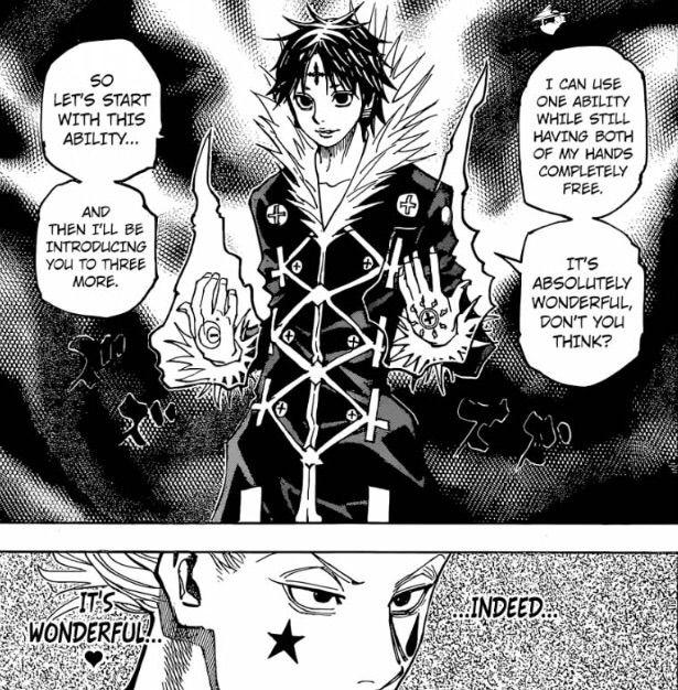Hisoka Vs Chrollo Battle Breakdown Anime Amino