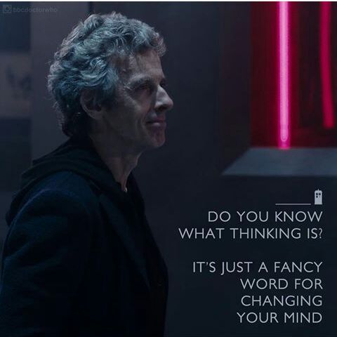 Image result for peter capaldi dr who quotes