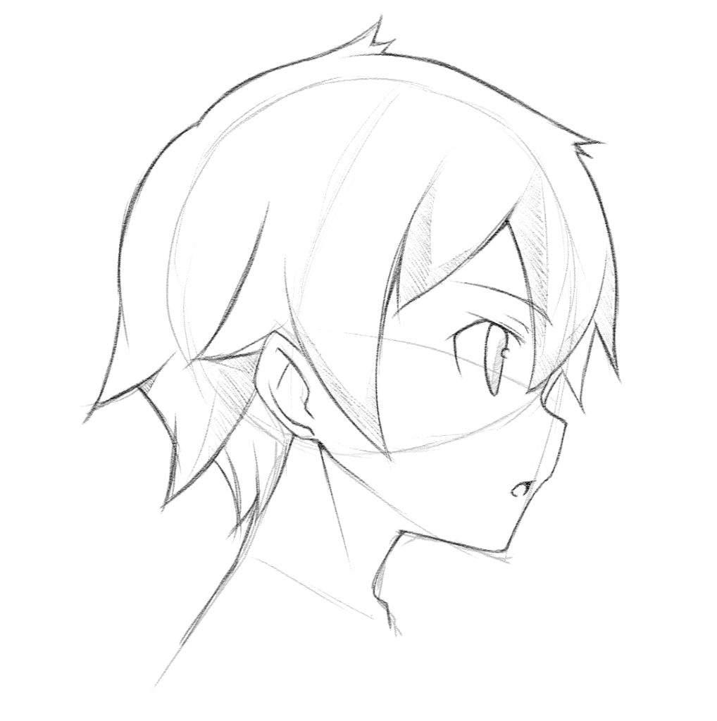 Anime Characters Side View : Anime face side view tutorial c mangaacademy amino