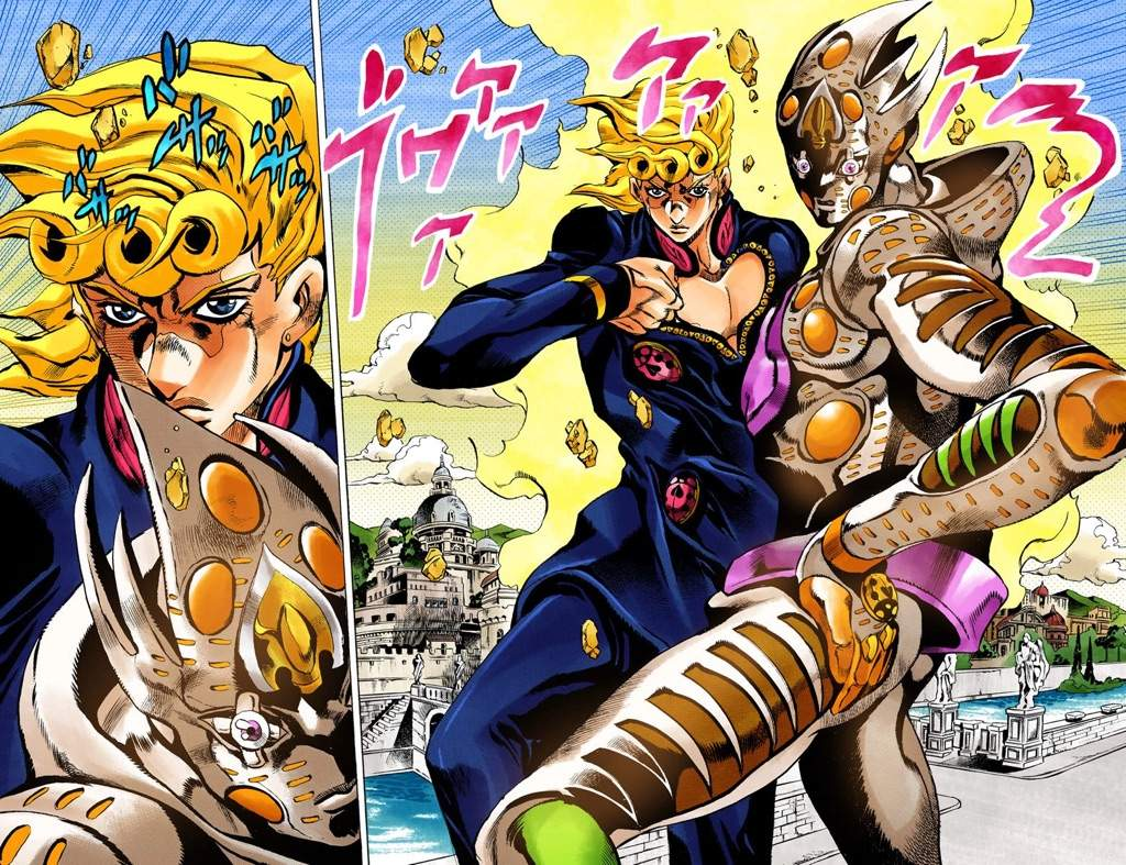 Probably one of the most if not the most overpowered character stand in jojos bizarre adventure his stand is so strong that sometimes it doesnt even