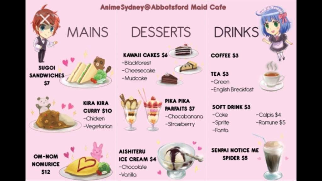 Maid Cafes In Japan Japan Amino