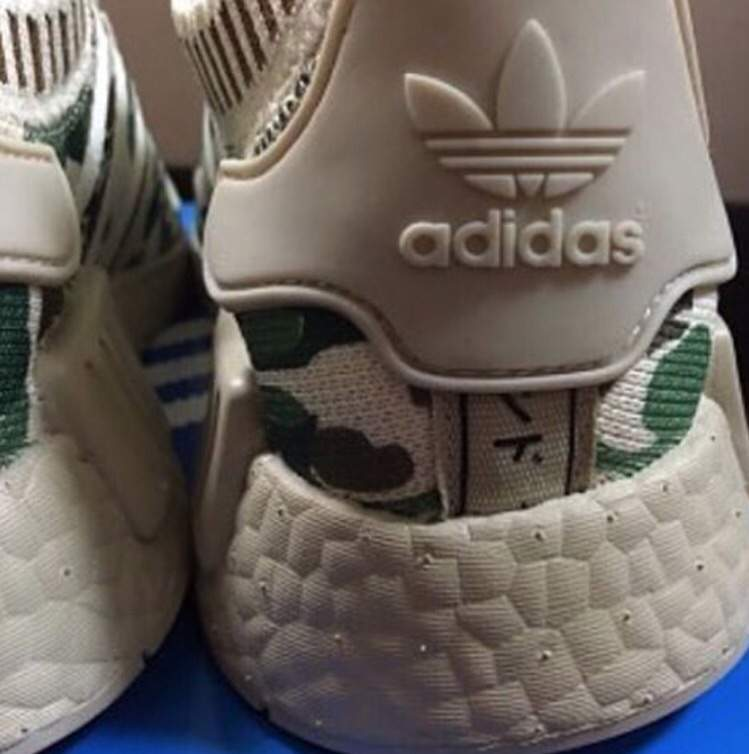 cb35e8ff7 It appears that there s an upcoming Bape adidas NMD in the works