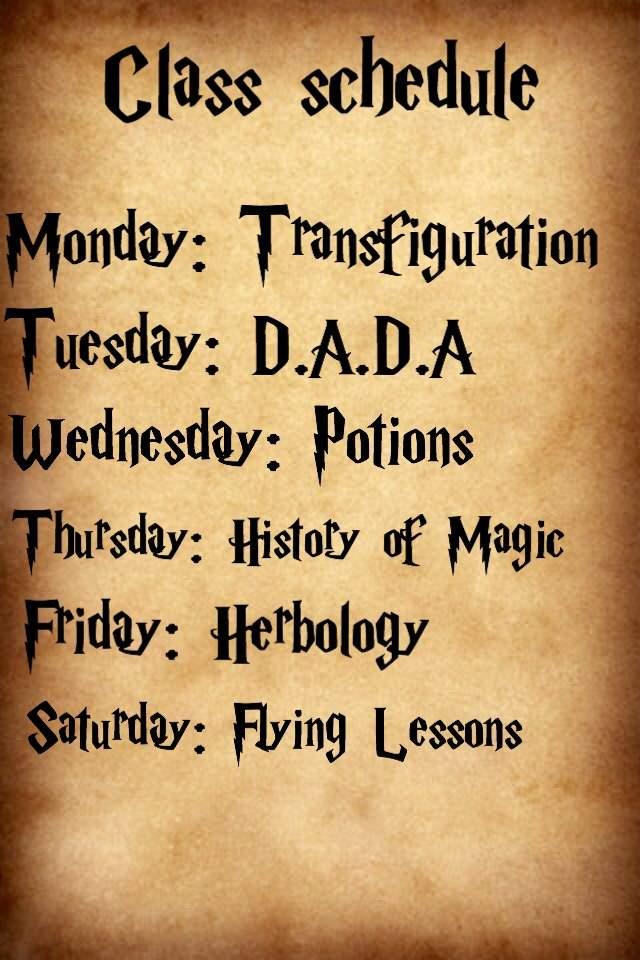 Image result for hogwarts students classes