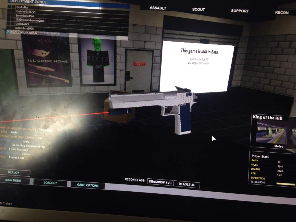 Glock 44 Roblox Phantom Forces Loadouts Roblox Amino