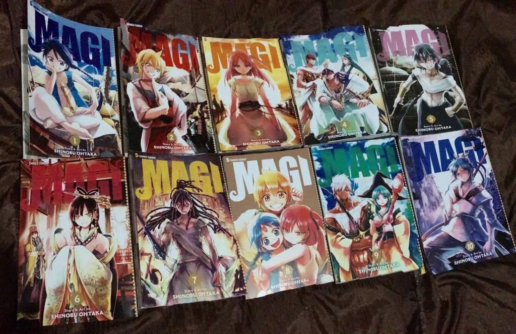 Top 13 Pros To The Magi Series! | Anime Amino