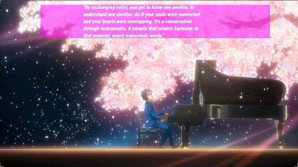 your lie in april backgrounds with quotes anime amino