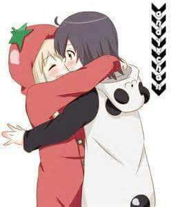 Anime cute lesbian