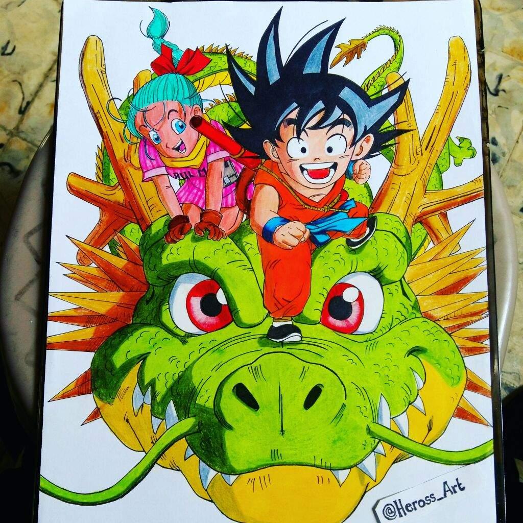 Dragon Ball Z Drawings