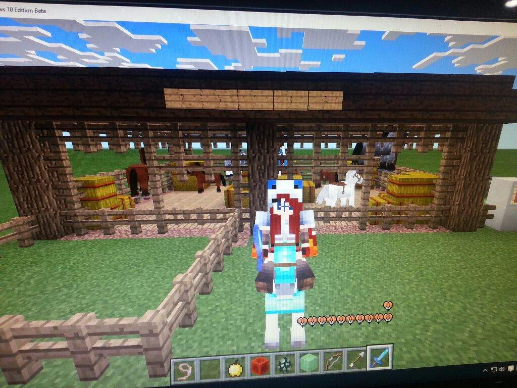 Horse Farm Minecraft Amino