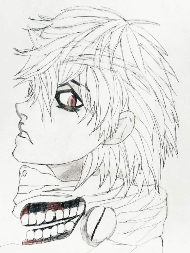 Kaneki Anime Color Pages