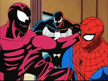 Spider-man la serie animada de los 90s Spider-Man Into The Spider-Verse 2
