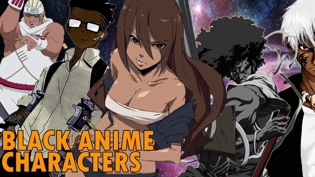 poll results black anime characters