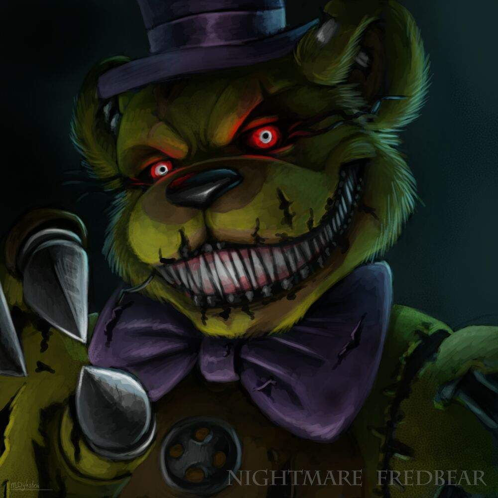 Nightmare Fredbear | Wiki